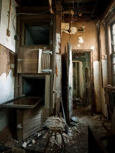Forest Haven Asylum. Abandoned children's hospital.