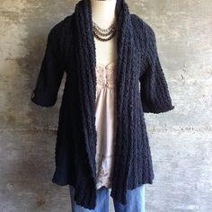 BCBGMAXAZRIA sweater Comfy, beautiful cardigan style jacket. Excellent condition BCBGMaxAzria Sweaters