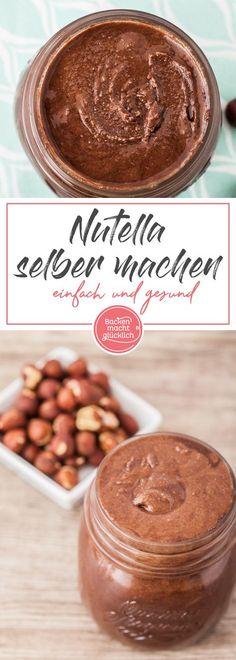 Mein Basisrezept für gesundes Nutella. Der selbstgemachte Schokoaufstrich ist nicht nur vegan. Man kann ihn sogar ohne Zucker und Haselnüsse herstellen, braucht dann aber natürlich ein alternatives Süßungsmittel sowie Mandeln.