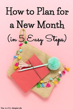 Take a look at my monthly planning routine: the 5 steps for how to plan next month. These include a recap of last month, the budget and bills, and creating new monthly goals (that can be done daily and weekly). Plus, there's the new month to do list. Pull out your calendar or planner and get ready! #goals via @mostlysimple1 Track Spending, Sinking Funds, Task To Do, Take Money, My Calendar, Goal Planning, Goals Planner, New Month, Meaningful Life