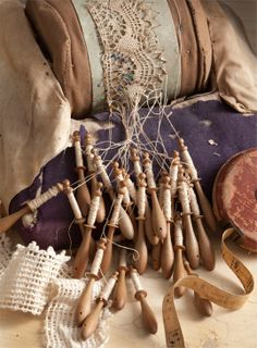 Did you know lace making is a traditional Maltese craft. Antique Lace, Vintage Lace, Irish Crochet, Crochet Lace, Bobbin Lacemaking, Lace Art, Lace Button, Linens And Lace, Sewing Notions