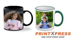 Start your day with a sip from your customized printed Mug