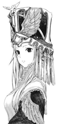 shiroshogun:線画