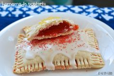 Vegan & Allergy Free Homemade Pop-Tarts!!  Dairy-free, Egg-free, Soy-free, Nut-free and easily gluten free.  With no nasty chemicals!  Delish!