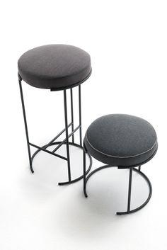 NINA Low stool by Living Divani design David Lopez Quincoces