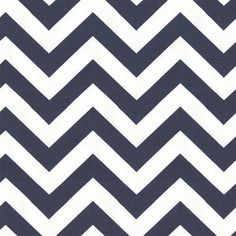 White and Navy Zig Zag Fabric. This is a great online fabric store.