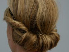 Special Occasion Hairstyle in less than 10 minutes (GRECIAN FLIP)