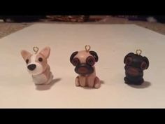 Polymer Clay Dog Tutorial: Corgi and Pug - YouTube