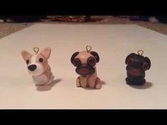 Polymer Clay Dog Tutorial: Corgi and Pug - YouTube