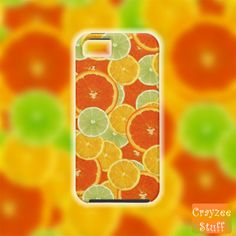 Oranges, lemons and limes iPhone 5 case.