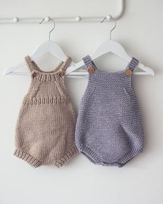 Baby Playsuit Knitting Pattern – Pip Knitted Romper PDF Knitting Pattern – Insta… – Awesome Knitting Ideas and Newest Knitting Models Easy Knitting Patterns, Knitting For Kids, Baby Patterns, Baby Knitting, Crochet Baby, Knit Crochet, Blanket Patterns, Easy Crochet, Crochet Patterns
