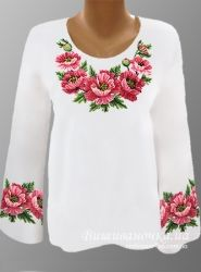 Ukrainian Beaded Blouse / Beaded Embroidery / by aCrossUkraine Embroidery Fashion, Beaded Embroidery, Embroidery Patterns, Hand Embroidery, Kurta Designs, Blouse Designs, Bordado Floral, Ethno Style, Embroidered Clothes