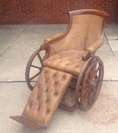 Antique Victorian Wheelchair by J Ward London Steampunk Oddities Surgery | eBay
