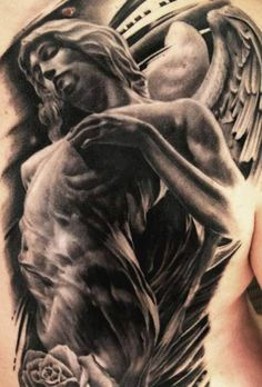 Yallzee's Awesome Angel Tattoos | Inked Magazine