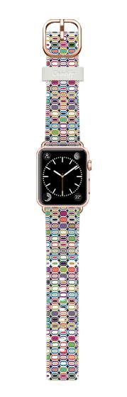 Casetify Apple Watch Band (38mm) Casetify Band - it all adds up by Sharon Turner #Casetify