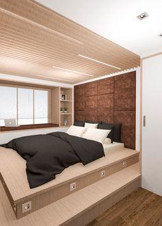 #спальня #эко #стиль #рейки #деревянные #интерьер #дизайн
