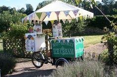Matt Benecci Wedding Ice Cream Bikes