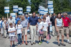 Ann Romney - Mitt Romney Attends Fourth Of July Parade In New Hampshire