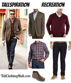 1cd054f744 Tallspiration  Big   Tall Tweed Blazer and Outfit - Tall Clothing Mall