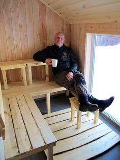 Sauna Deck, Outdoor Decor, Home Decor, Decoration Home, Room Decor, Front Porches, Home Interior Design, Decks, Decoration