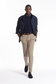 A look from the Polo Ralph Lauren Spring 2016 Menswear collection.