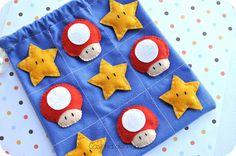 Mario Bros by Casinha de Pano, via Flickr