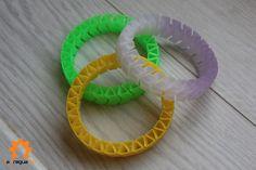 Muestrario de #pulseras flexibles en #colores variados, #luminiscente, #fotosensible y muchos más!