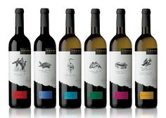 Boordy Vineyards love these #wine bottles critter #packaging PD