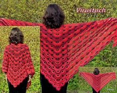 Free Crochet Pattern Virus Shawl