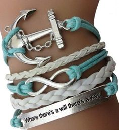 Where There's A Will, There's A Way Arm Party Bracelet Set