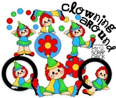 Clowning Around: click to enlarge
