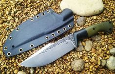 Ken Vehikite. Handmade. High Carbon. BOOKS CLOSED. No website. Contact @ black.roc.knives@gmail.com. Paypal. Made in Indiana, USA DTOM