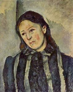 Paul Cézanne, Portrait of Madame Cézanne with Loosened Hair, circa 1883–87.    Philadelphia Museum of Art