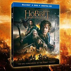 NEW!!! GIVEAWAY: WIN ‪#‎TheHobbit‬: The Battle of the Five Armies on Blu-Ray - ENDS 4/14/2015 http://ow.ly/LcHFy