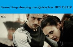 One does simply 'stop obsessing' over Pietro Maximoff~~~ LOVE THE COMMENT ! AND THE PIC. !