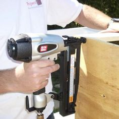 Attaching a Brace to a Cabinet - (c) 2014 Chris Baylor licensed to About.com, Inc.