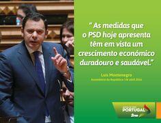 Luís Montenegro, Presidente do Grupo Parlamentar do PSD, na apresentação à imprensa do Projeto de Resolução do PSD para a Capitalização de Empresas #PSD #acimadetudoportugal