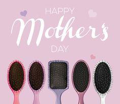 Allen Müttern wünscht Wet Brush einen wunderschönen Tag!  #haare #hair #muttertagsgeschenk #muttertag #wetbrush