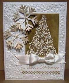 Stamping with Julie Gearinger: Merry Christmas- Two Challenges in One!