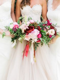 Bridesmaids bouquets | Rachel Havel Photography and Emma and Grace Bridal Studio