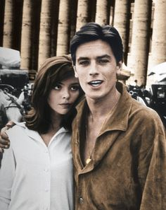 OHHH MMMM GOSH  Alain Delon #LegendaryStyle - reminds me of George Clooney