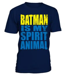 # BATMAN IS MY SPIRIT ANIMAL T-SHIRT Anima .  BATMAN IS MY SPIRIT ANIMAL T-SHIRTClick on drop down menu to choose your style, then pick a color. Click the BUY IT NOW button to select your size and proceed to order. Guaranteed safe checkout: PAYPAL   VISA   MASTERCARD   AMEX   DISCOVER.merry christmas ,santa claus ,christmas day, father christmas, christmas celebration,christmas tree,christmas decorations, personalized christmas, holliday, halloween, xmas christmas,xmas celebration, xmas…