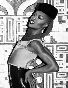 #potd: Miss Grace Jones proving that the key to killing the game is staying limber.