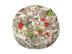 Πουφ Basket#Πουφ Poofomania #bean bag#indoor#pouf#poof#