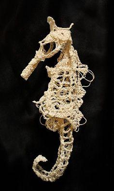 Crochet Skeleton Artist Caitlin McCormackI just stumbled upon...
