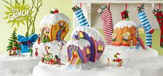 The Grinch Village! Who-Ville! OMG! So Cute! So expensive! But So cute!!!