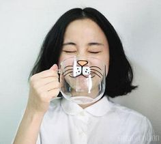 The Amazing Cat Mug and like OMG! get some yourself some pawtastic adorable cat apparel!