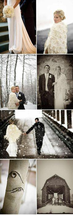 James Christianson Captures Winter Wedding Wonderland