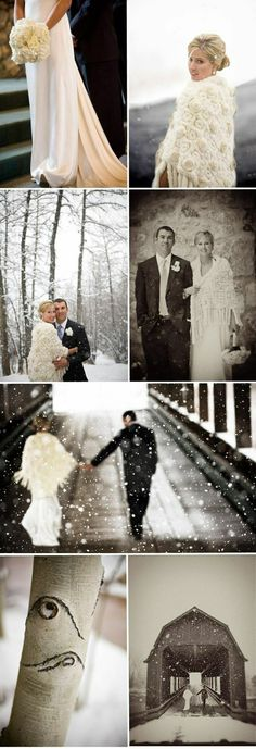 James Christianson Captures Winter Wedding Wonderland