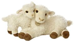 "Aurora World Miyoni Ewe and Lamb Plush, 13.5"" Aurora World Inc. http://www.amazon.com/dp/B00HAYRQ3I/ref=cm_sw_r_pi_dp_h288tb10V4BRD"